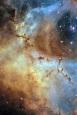 NGC 2239, Nebulosa Roseta, SII-Hα-OIII
