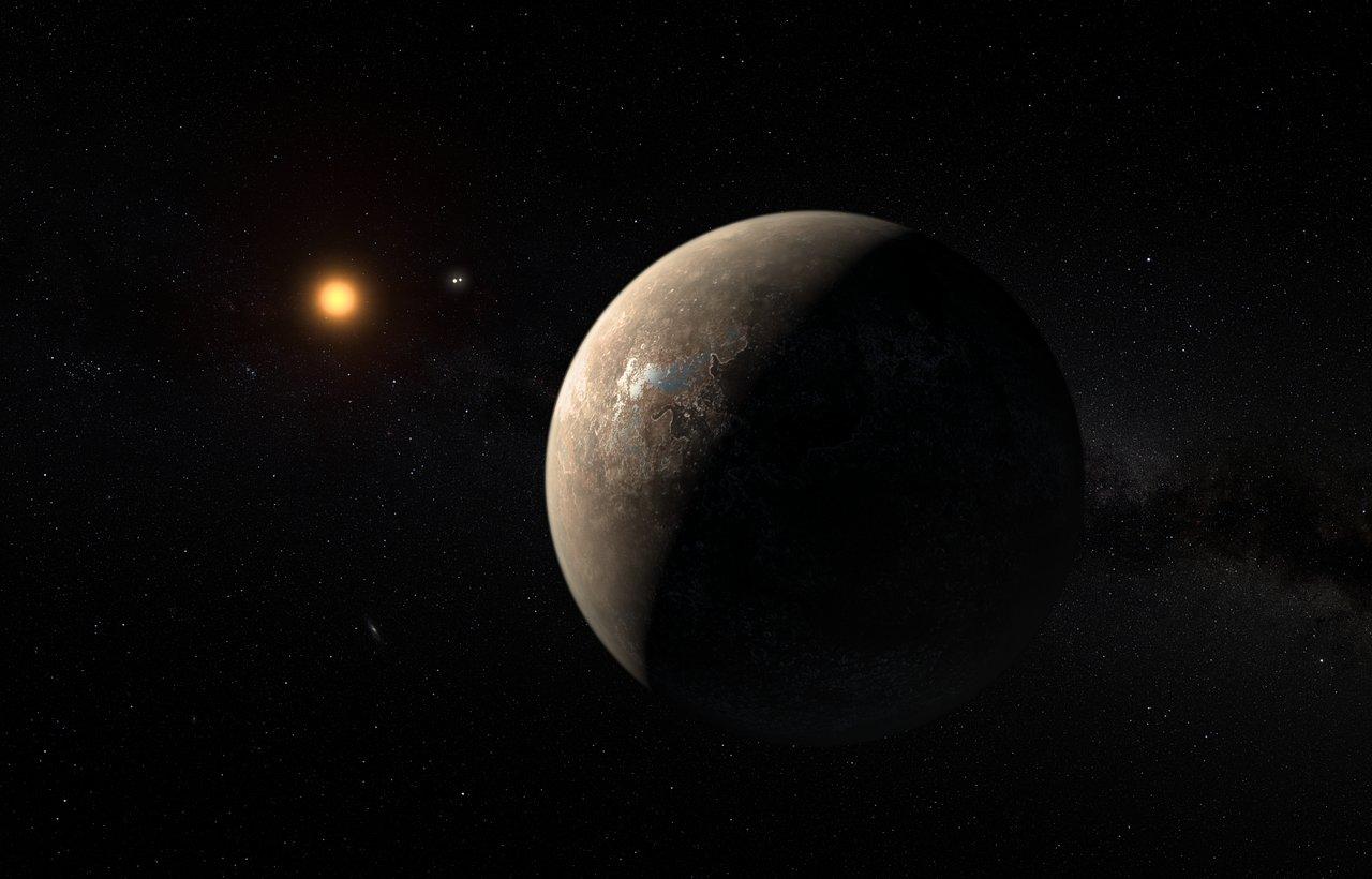 Resultado de imagen de El planeta en zona habitable de Próxima Centauri